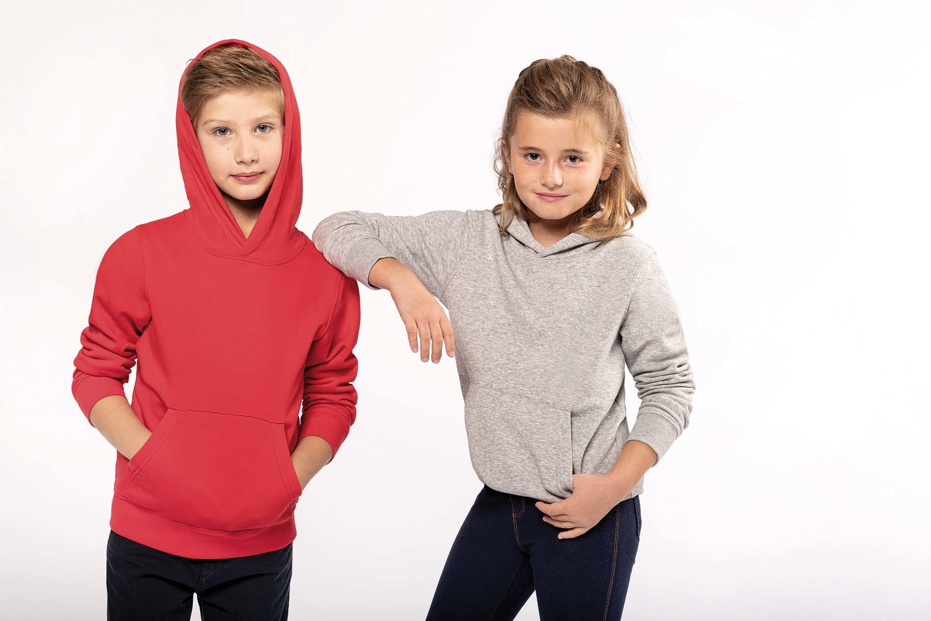 Eco-Friendly hoodie Kids Dark-Grey