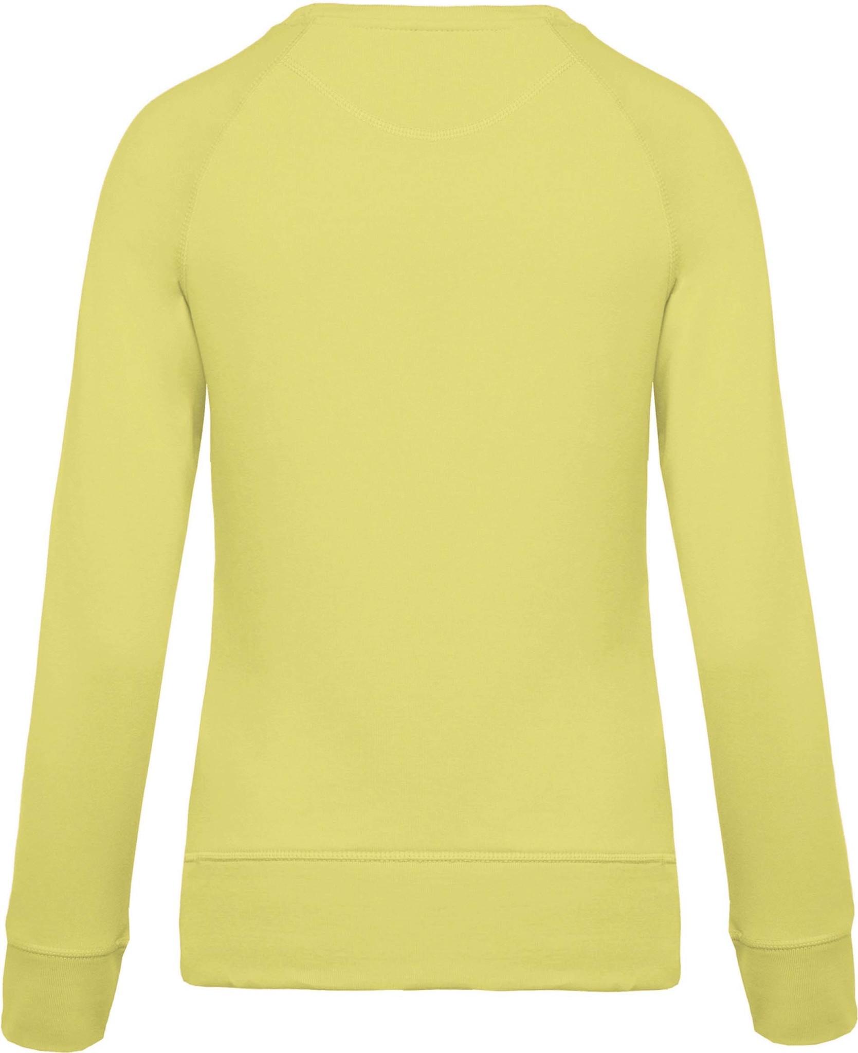 Eco-Friendly Sweater Dames Lemon Yellow