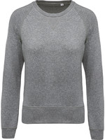 Eco-Friendly Sweater Dames Grey-Gemêleerd