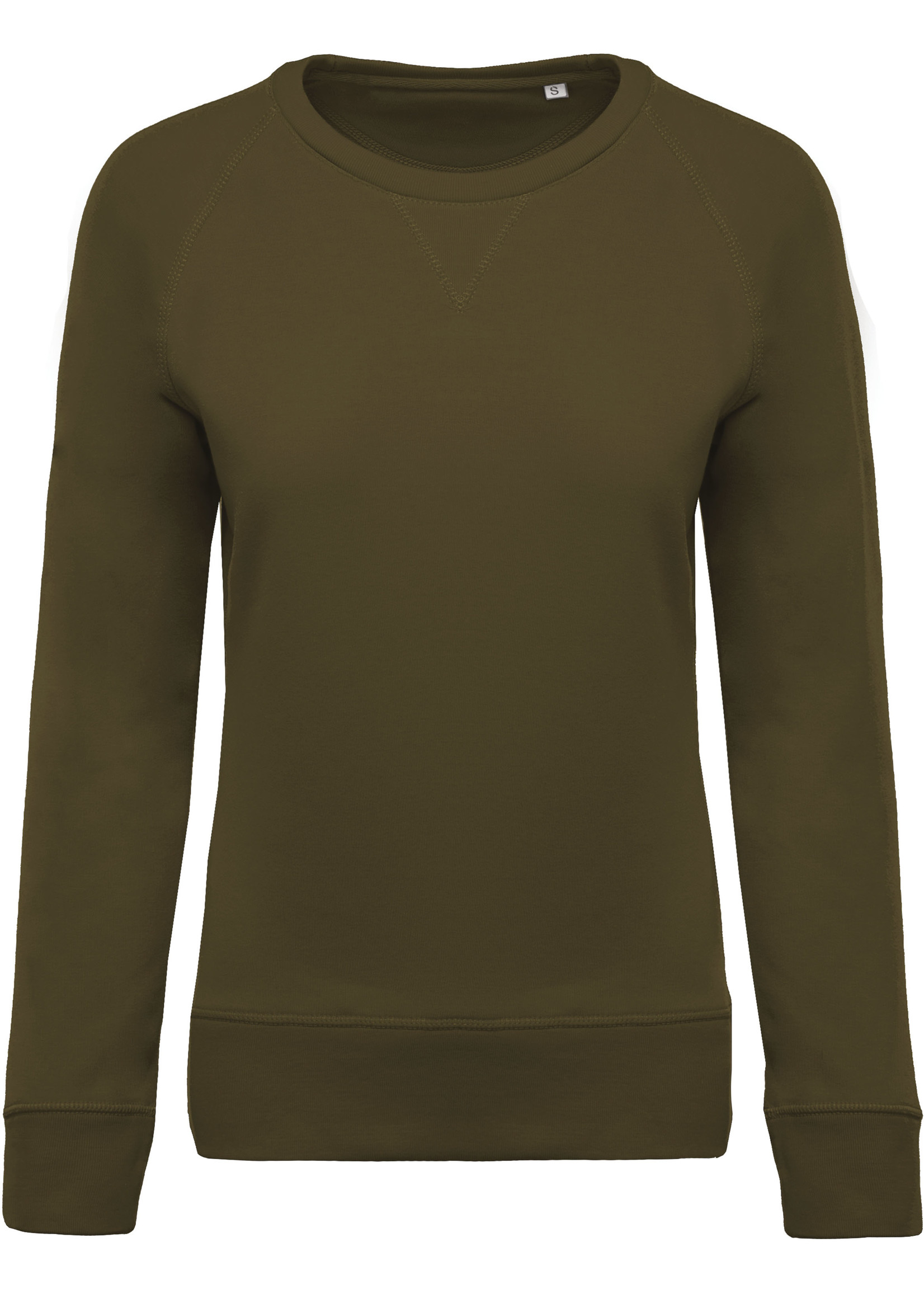 Eco-Friendly Sweater Dames Mossy-Green