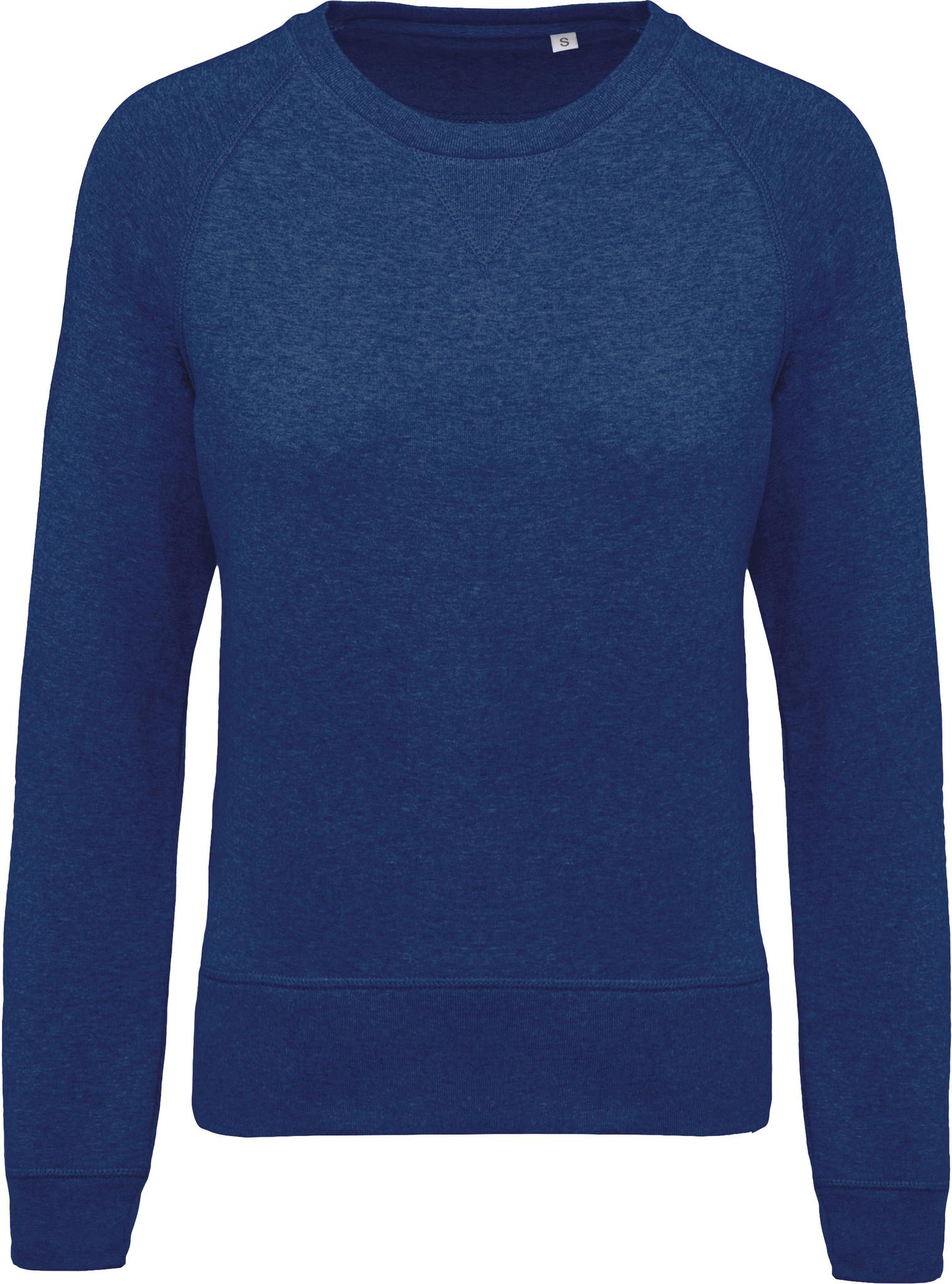 Eco-Friendly Sweater Dames Ocean blue-Gemêleerd