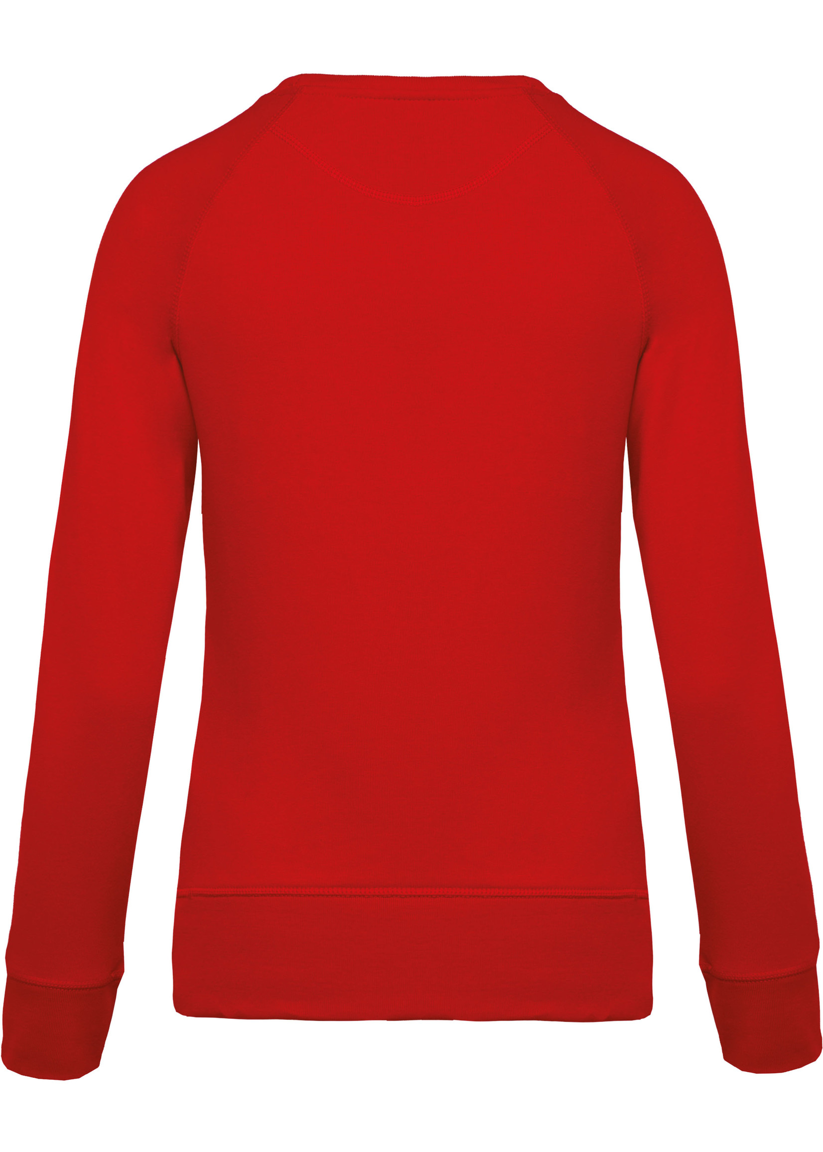 Eco-Friendly Sweater Dames Red