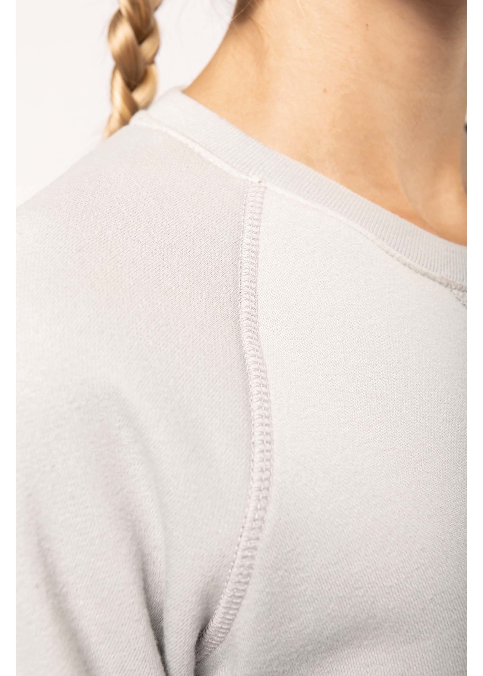 Eco-Friendly Sweater Dames Snow-Grey