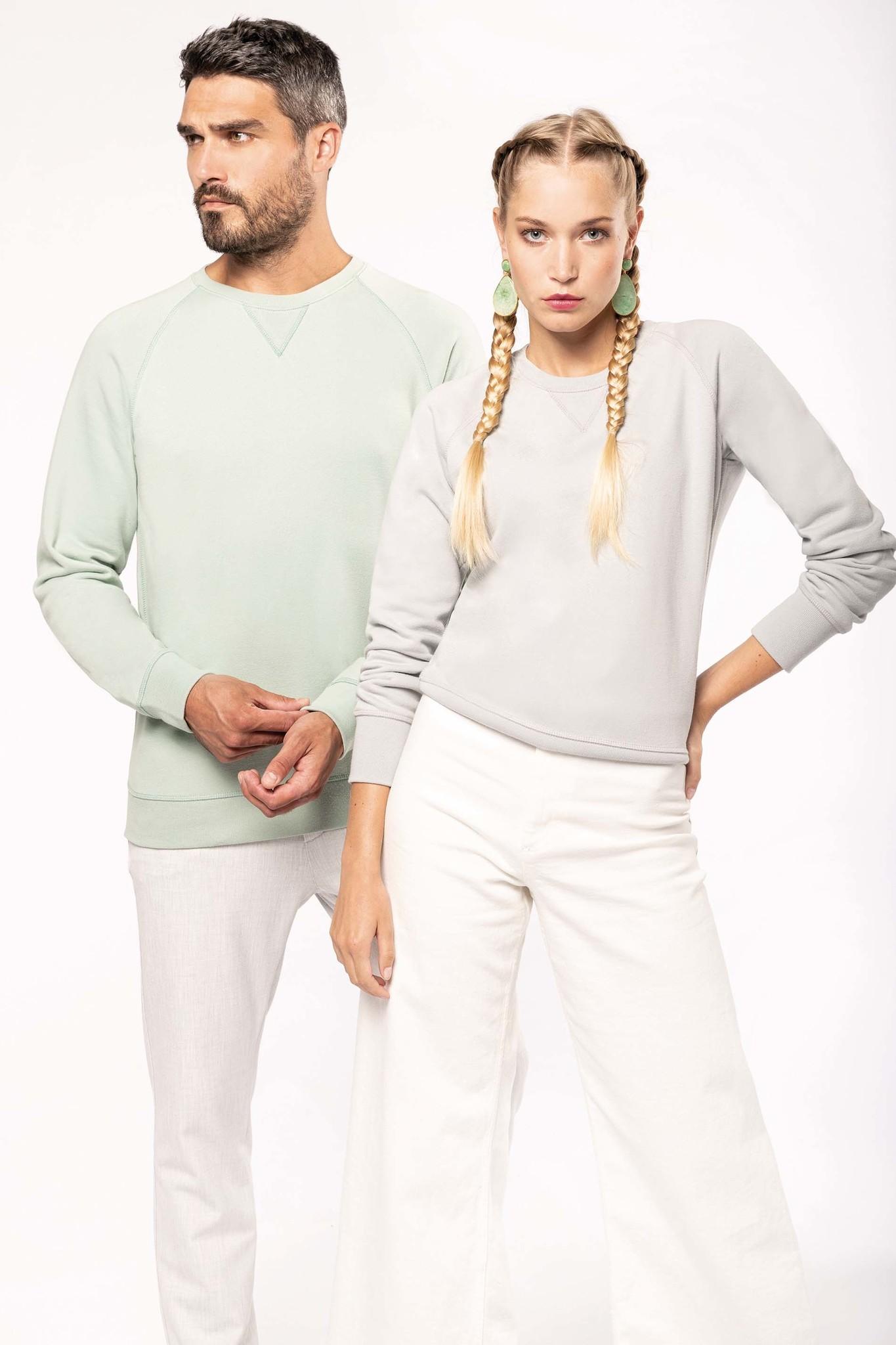 Eco-Friendly Sweater Dames Wine-Gemêleerd