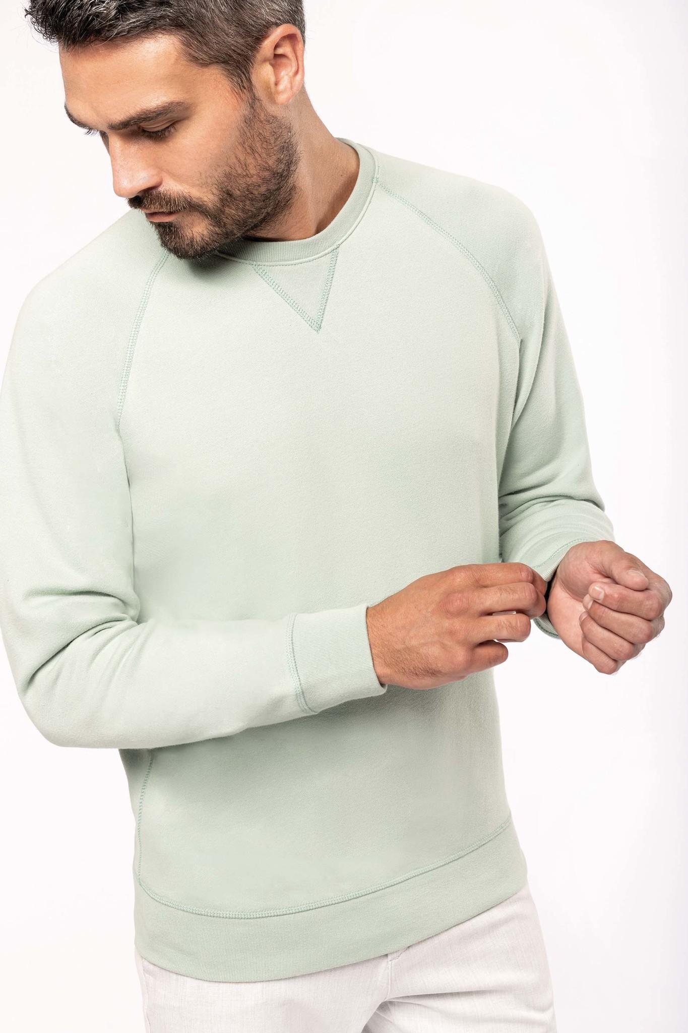 Eco-Friendly Sweater Heren Grey-Gemêleerd