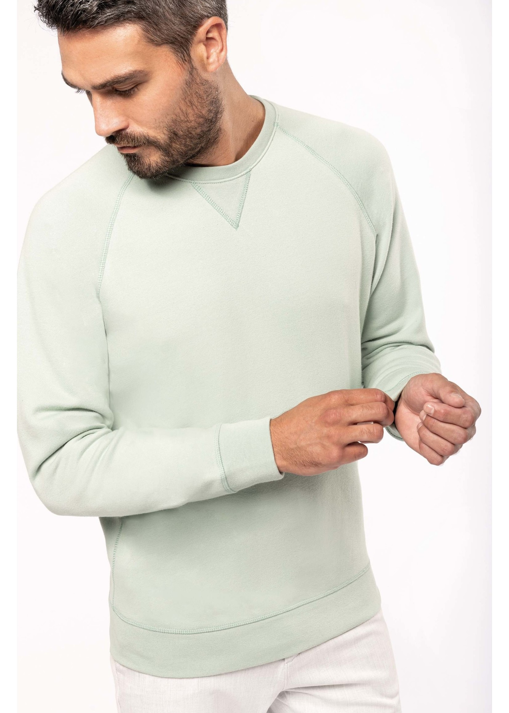 Eco-Friendly Sweater Heren Mossy-Green