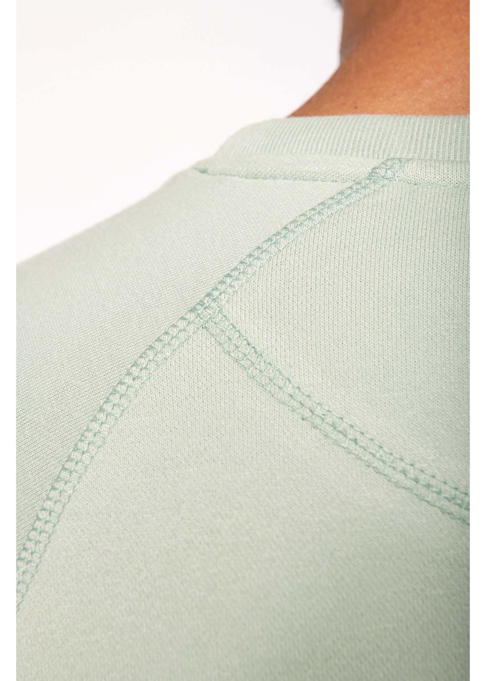 Eco-Friendly Sweater Heren Oceanblue-Gemêleerd