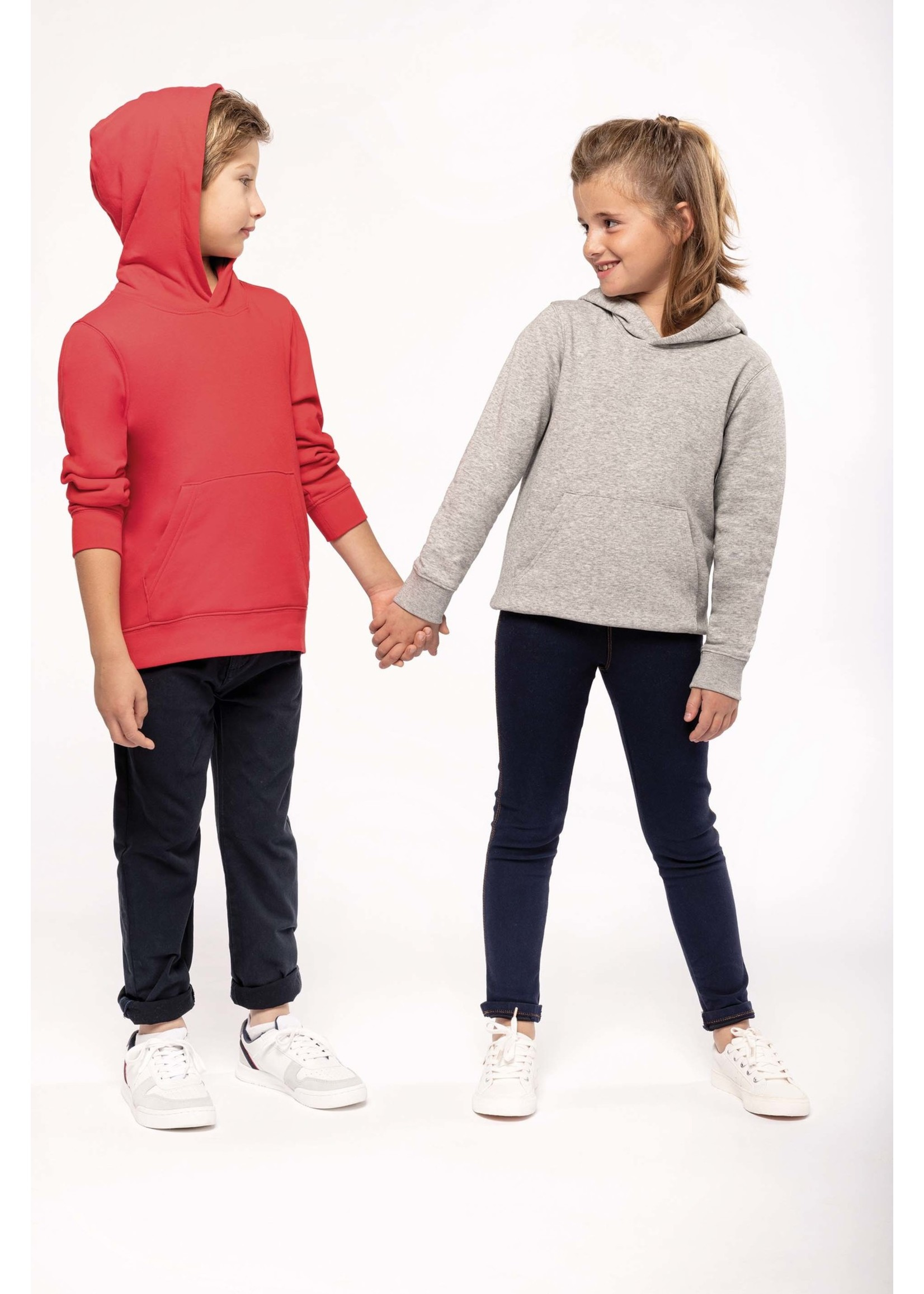 Eco-Friendly hoodie Kids Forest-Green
