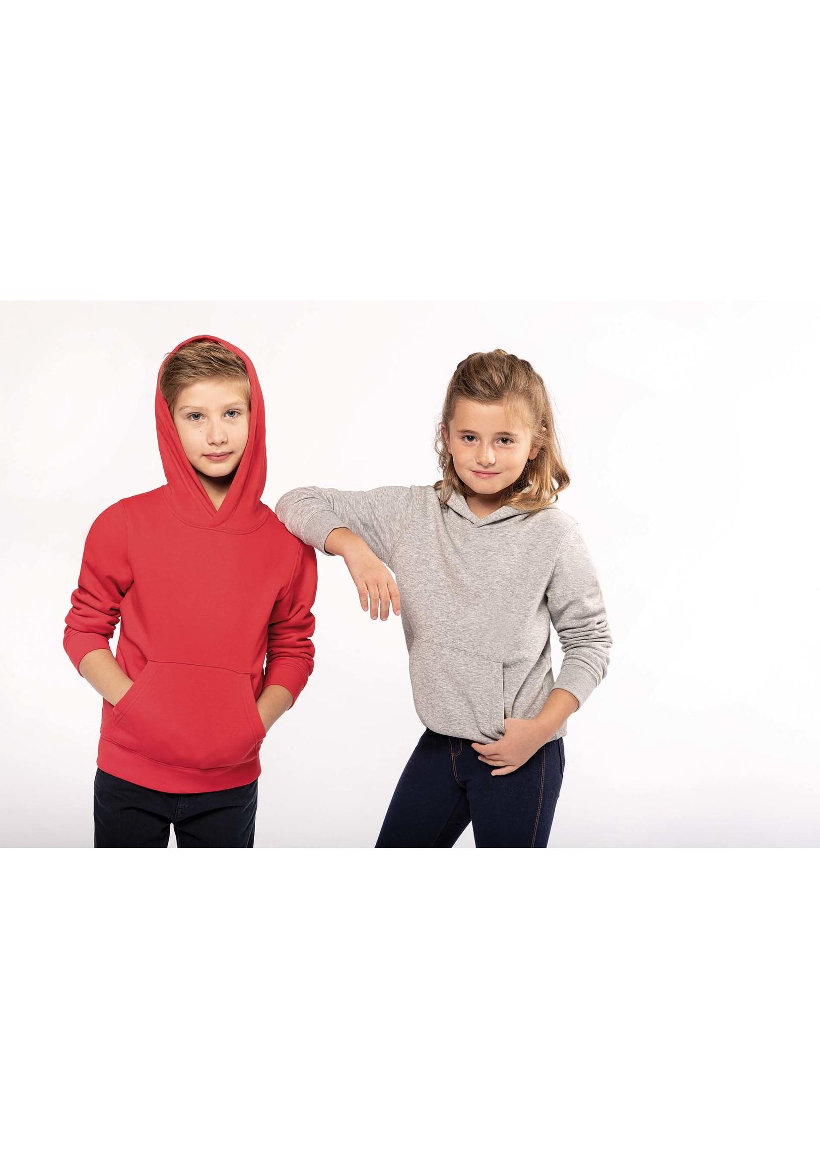 Eco-Friendly hoodie Kids Light-Orange
