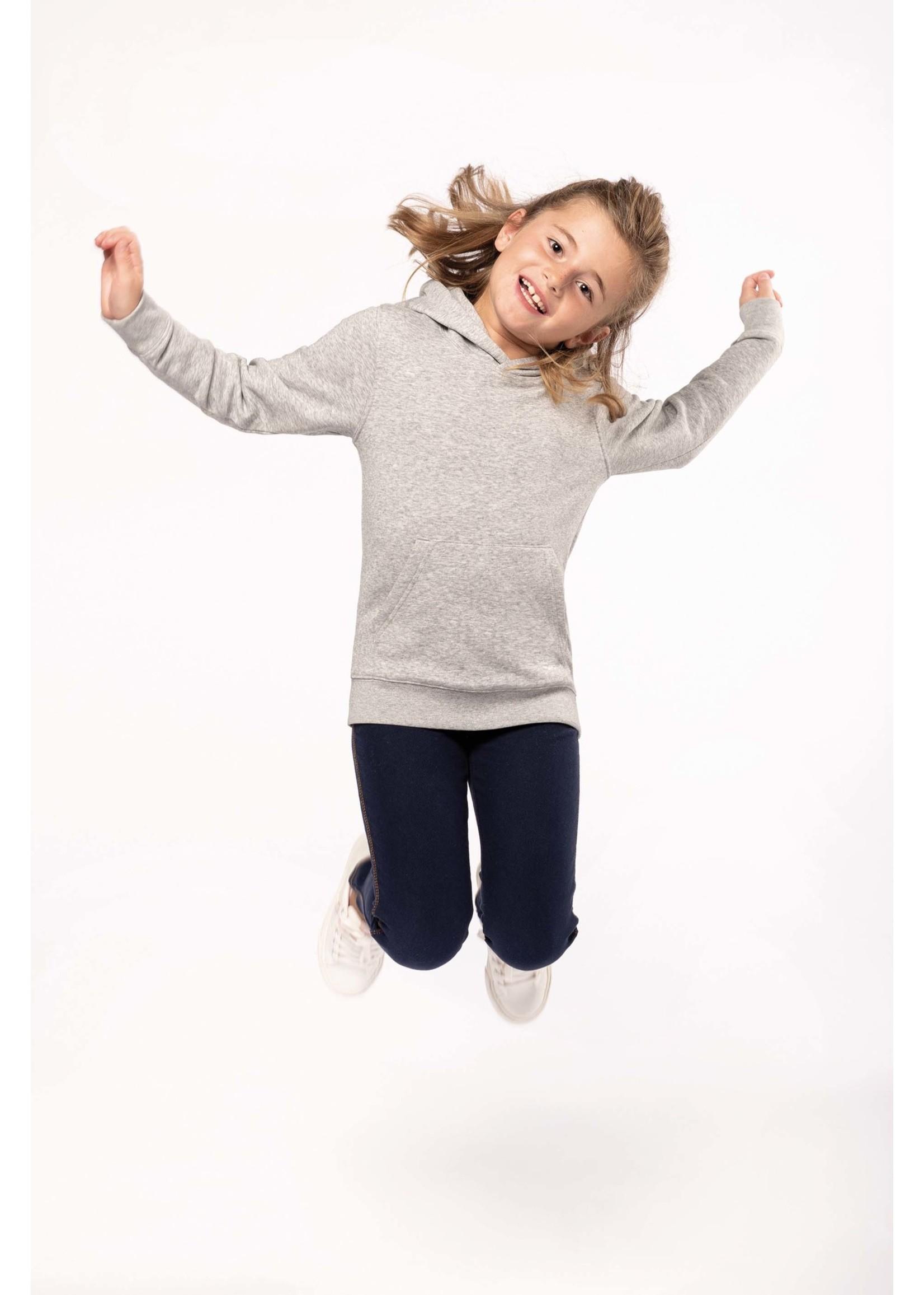 Eco-Friendly hoodie Kids Oxford-Grey