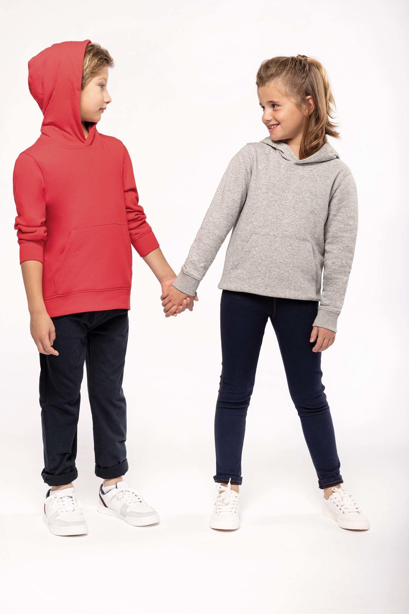 Eco-Friendly hoodie Kids White