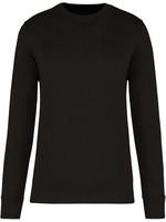 Eco-Friendly Crew Neck Sweater Kids-Black