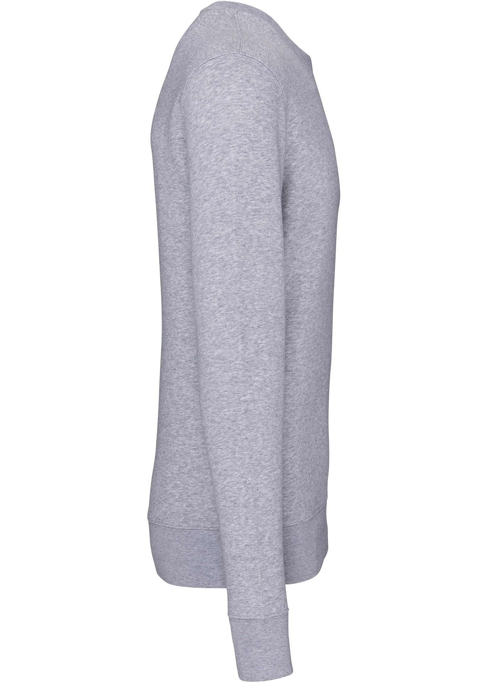 Eco-Friendly Crew Neck Sweater Kids-Oxford-Grey