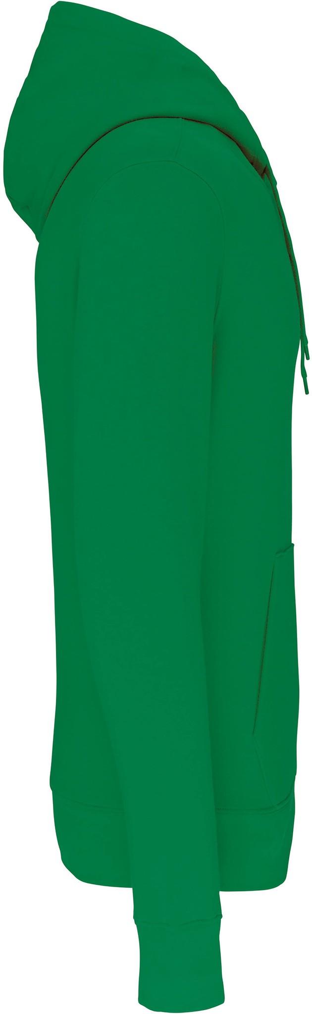 Eco-Friendly Hoodie Uni Kelly-Green