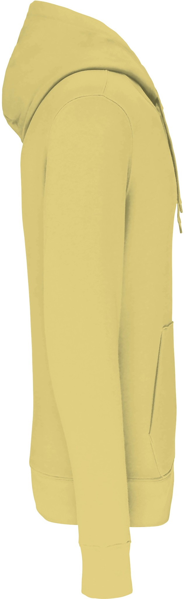 Eco-Friendly Hoodie Uni Lemon-Yellow