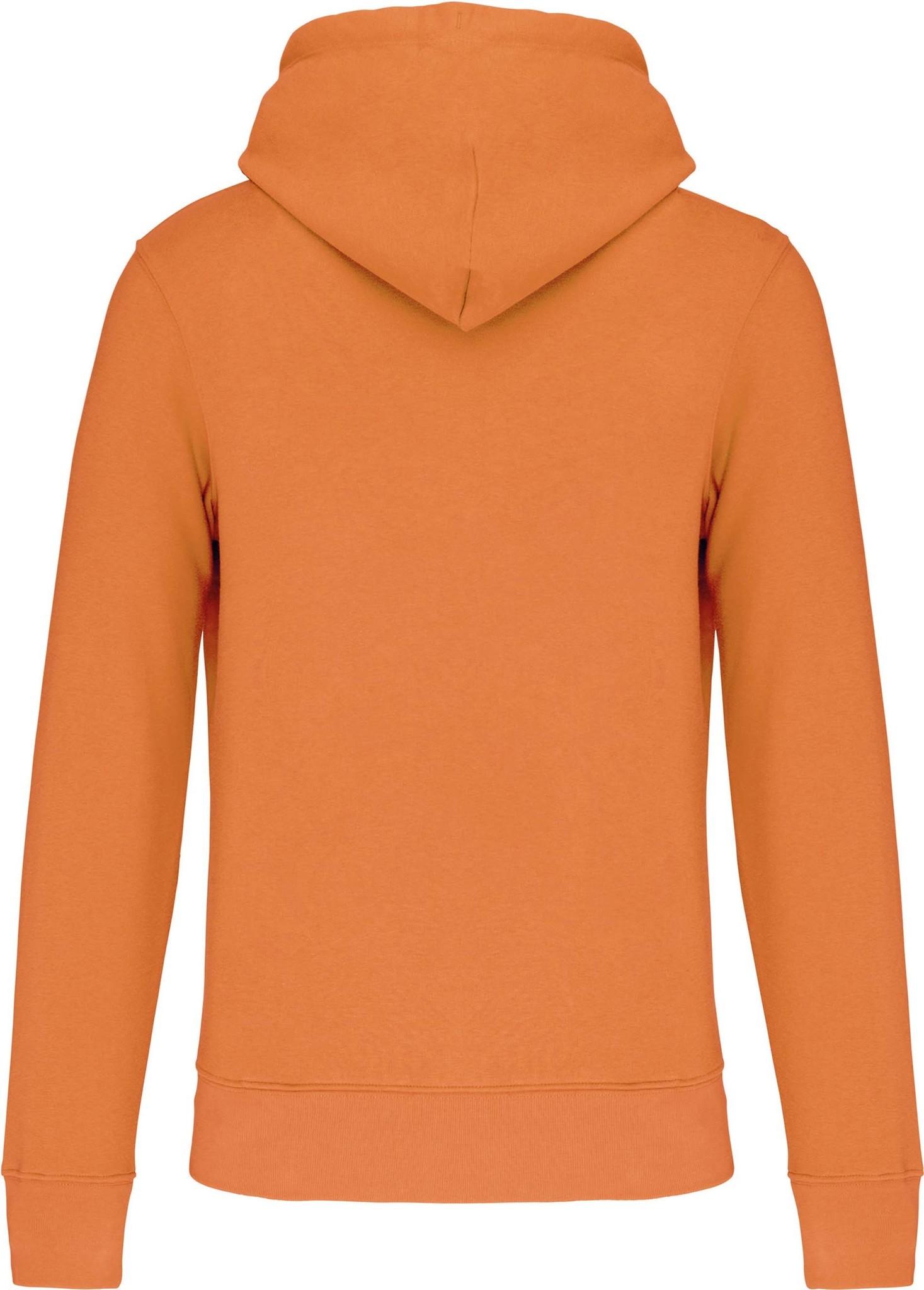 Eco-Friendly Hoodie Uni Light-Orange