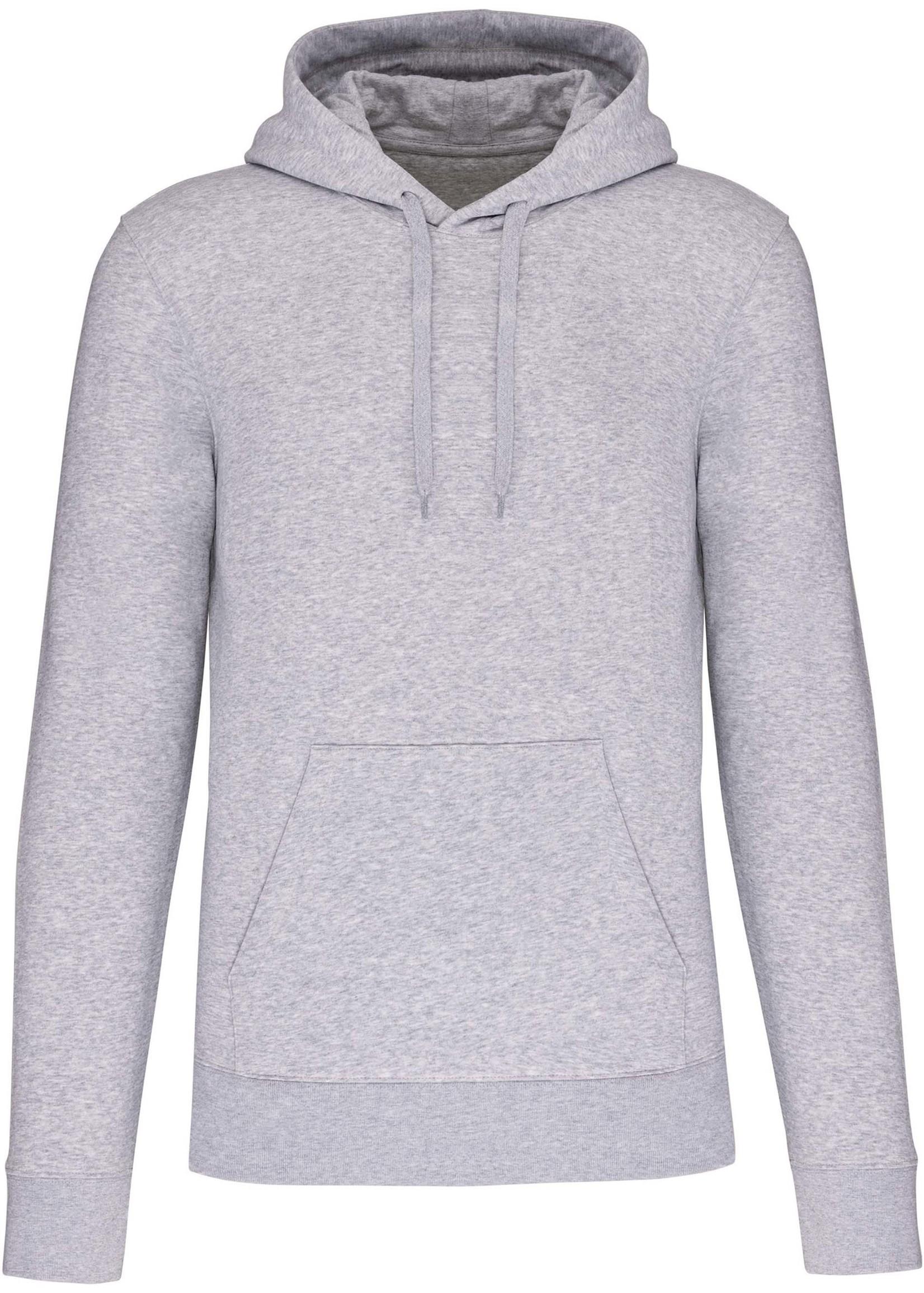 Eco-Friendly Hoodie Uni Oxford-Grey