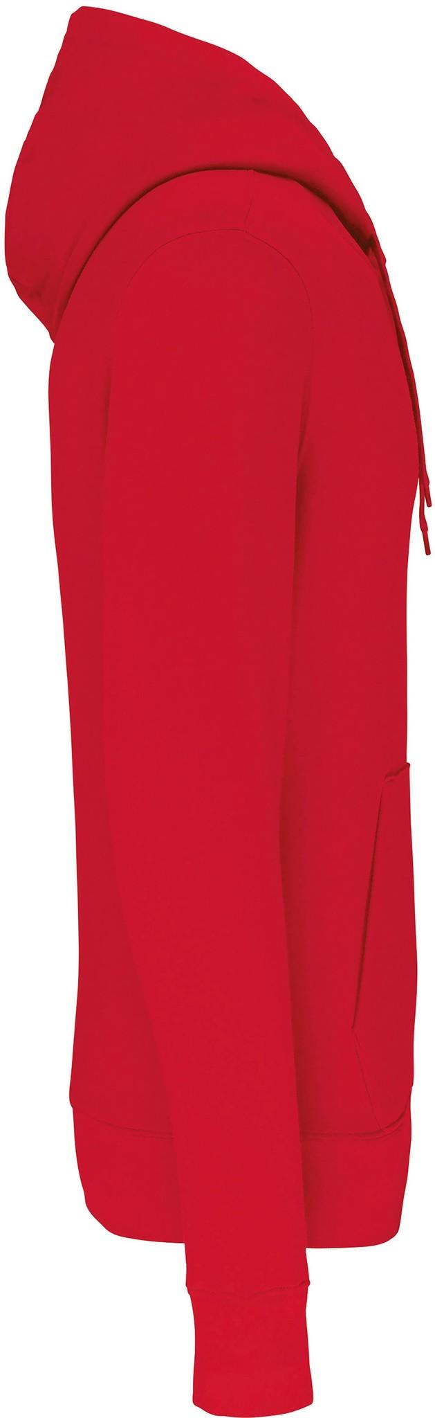 Eco-Friendly Hoodie Uni Red