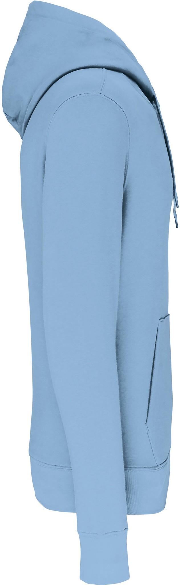 Eco-Friendly Hoodie Uni Sky-Blue
