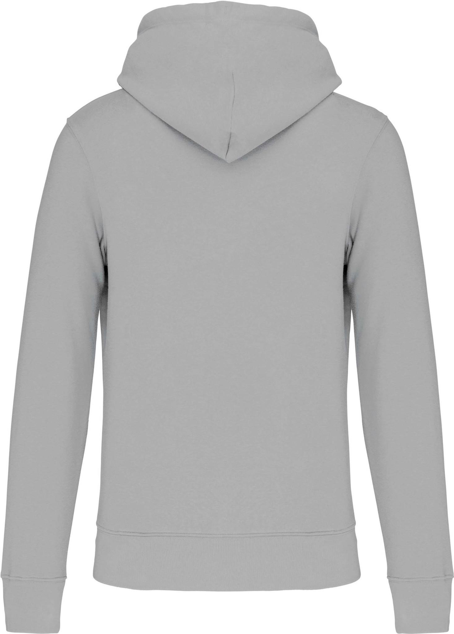 Eco-Friendly Hoodie Uni Snow-Grey