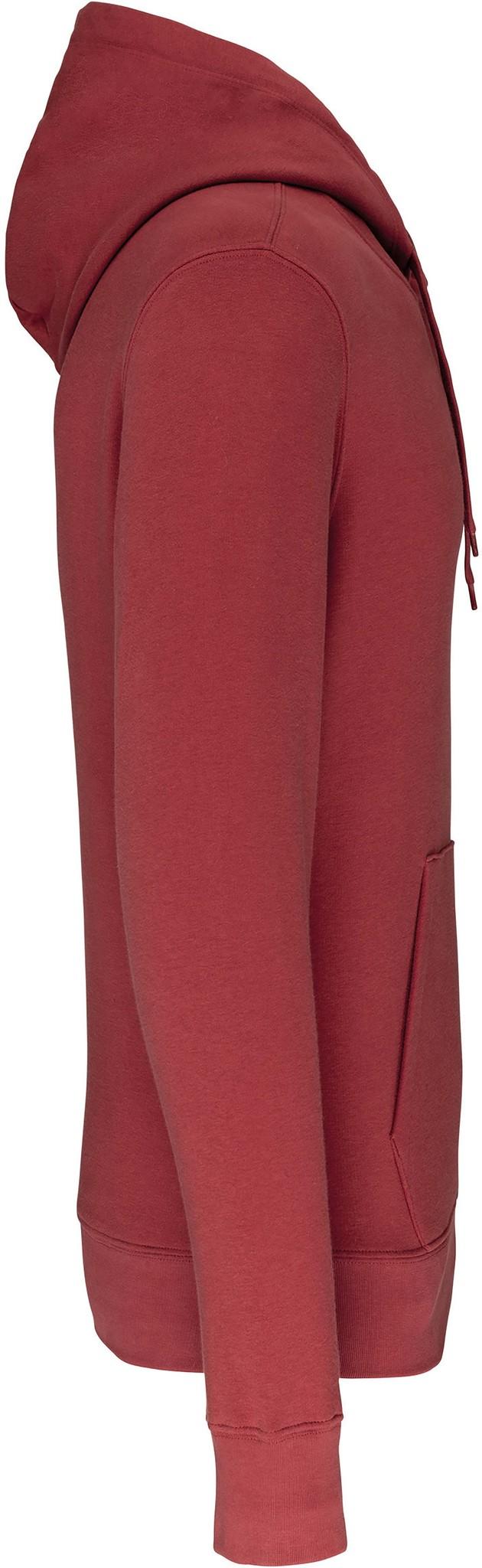 Eco-Friendly Hoodie Uni Terracotta-Red