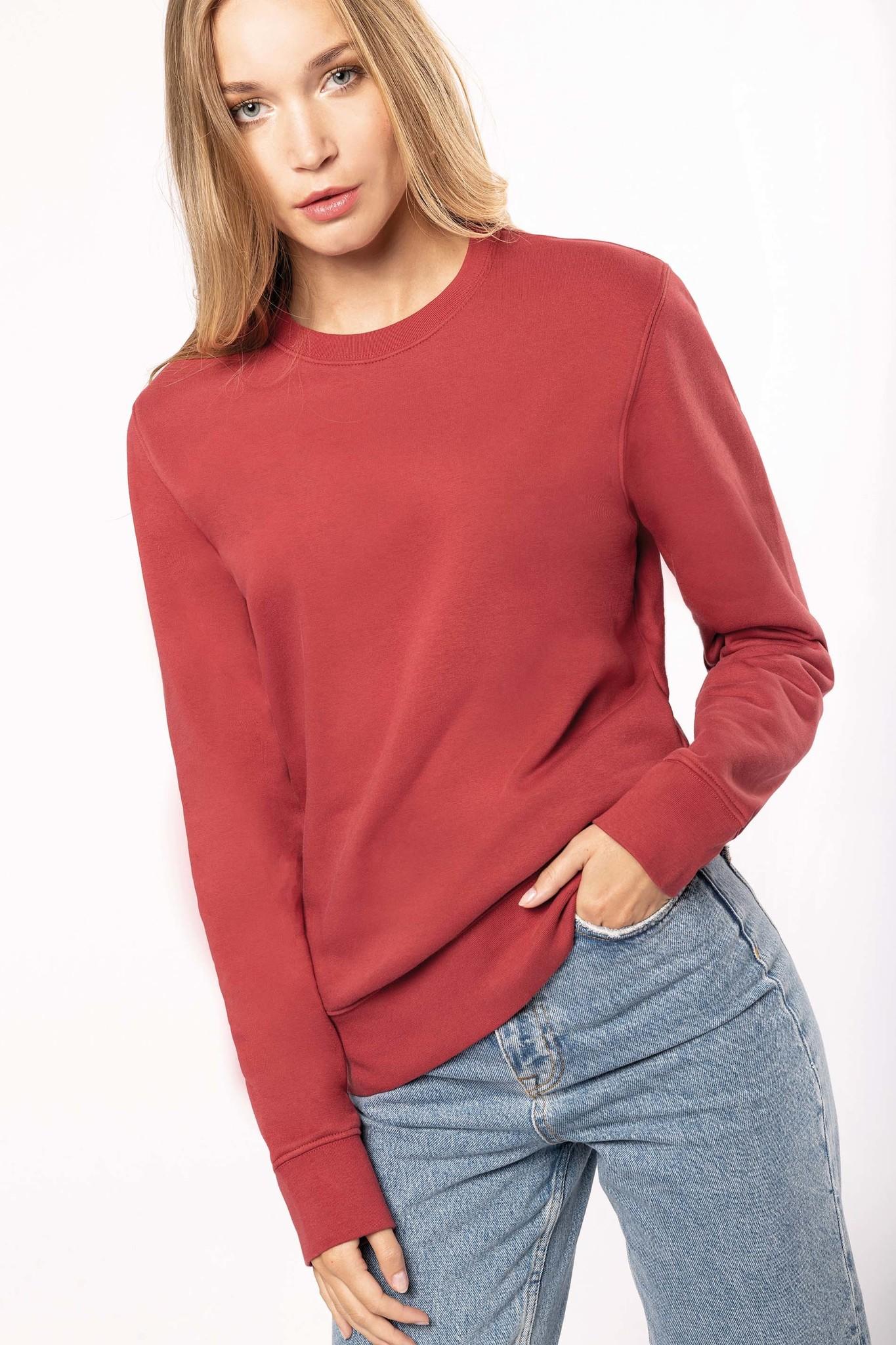Eco-Friendly Sweater UNI Green Marble-Gemêleerd
