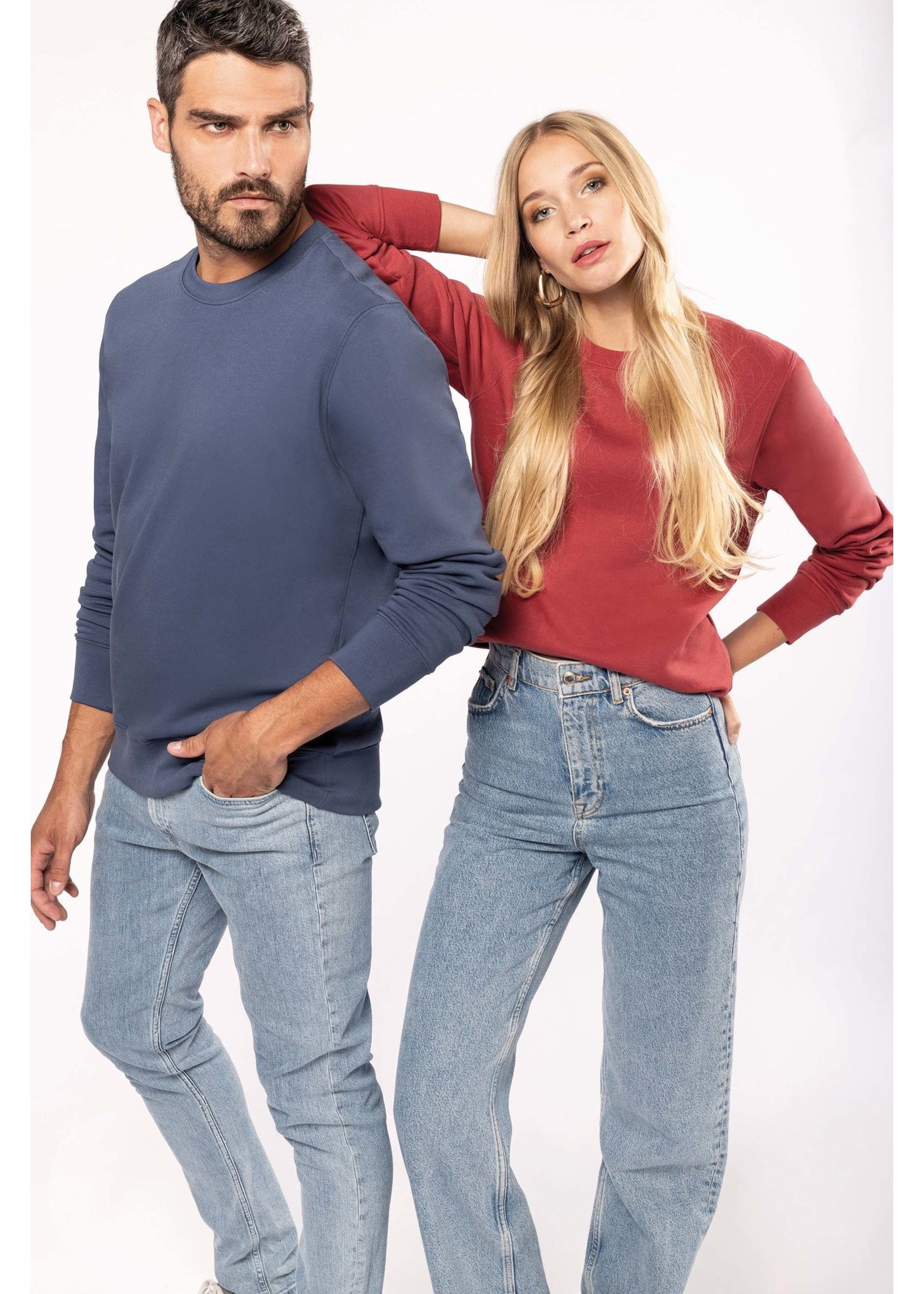 Eco-Friendly Sweater UNI Oxford grey