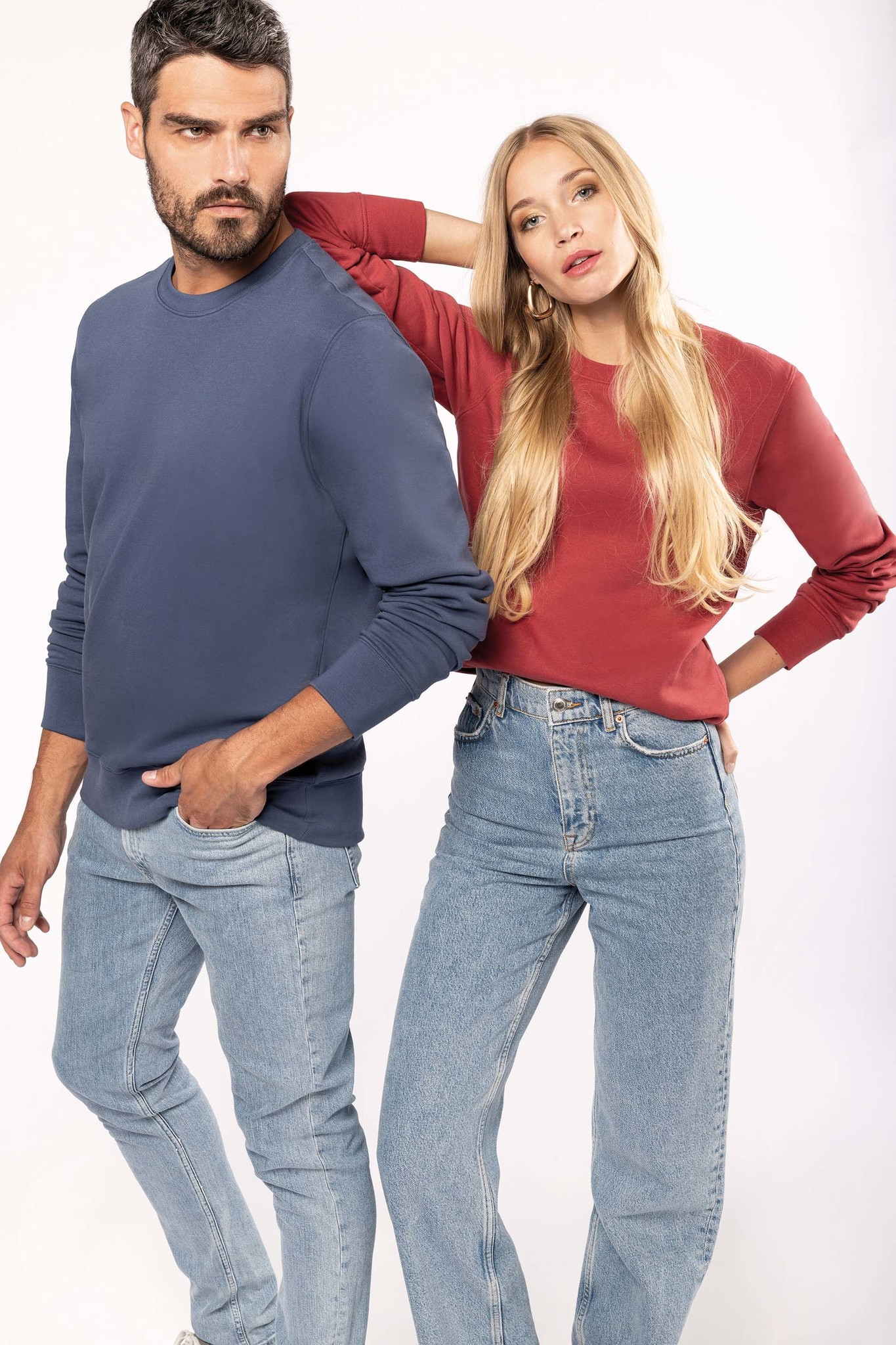 Eco-Friendly Sweater UNI Sage