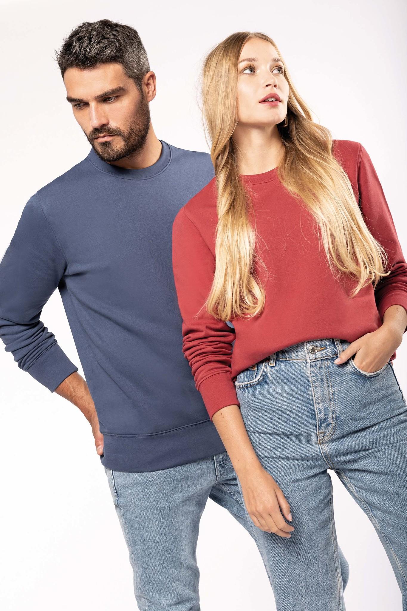 Eco-Friendly Sweater UNI Sea Turquoise