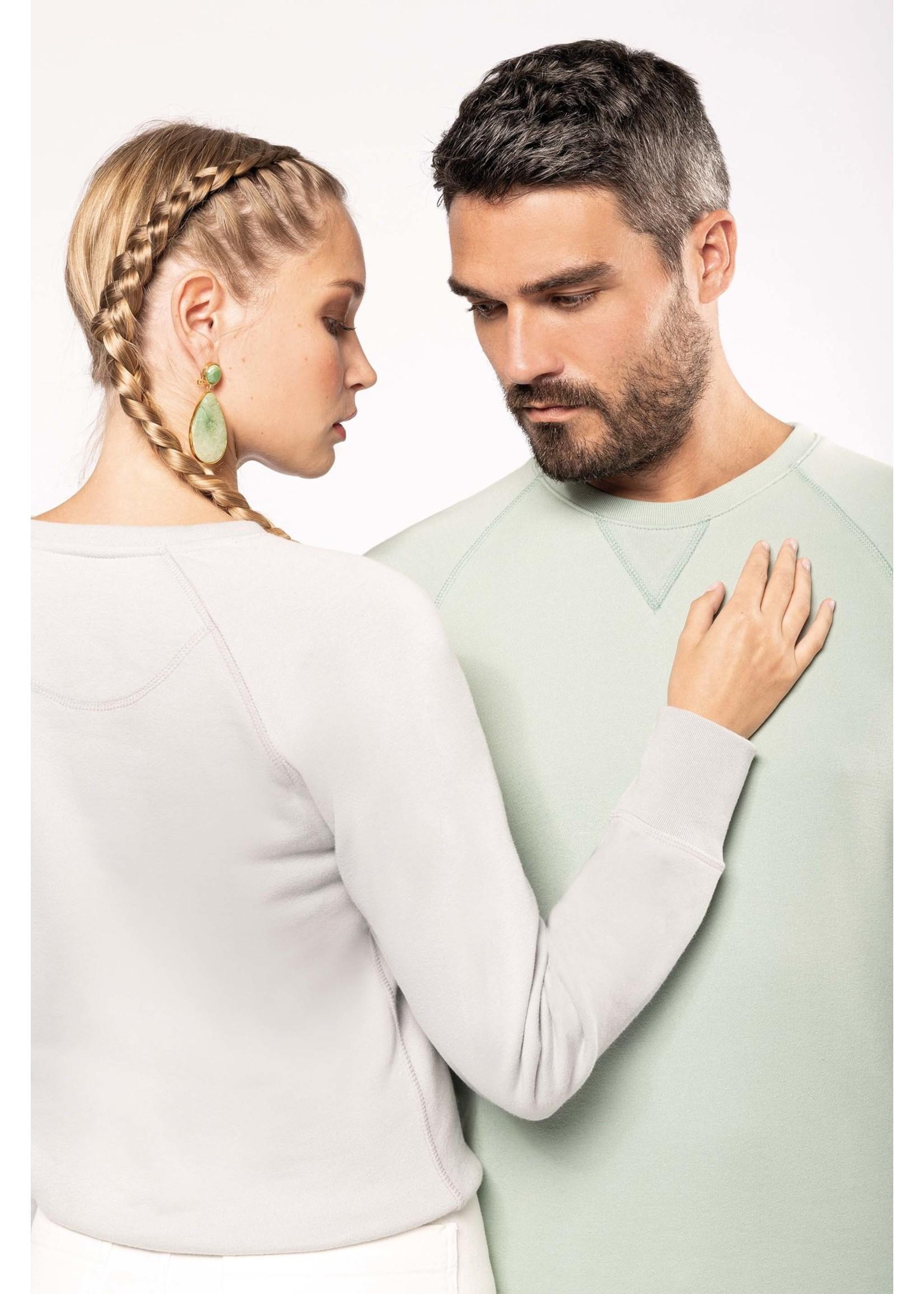 Eco-Friendly Sweater Heren Snow-Grey