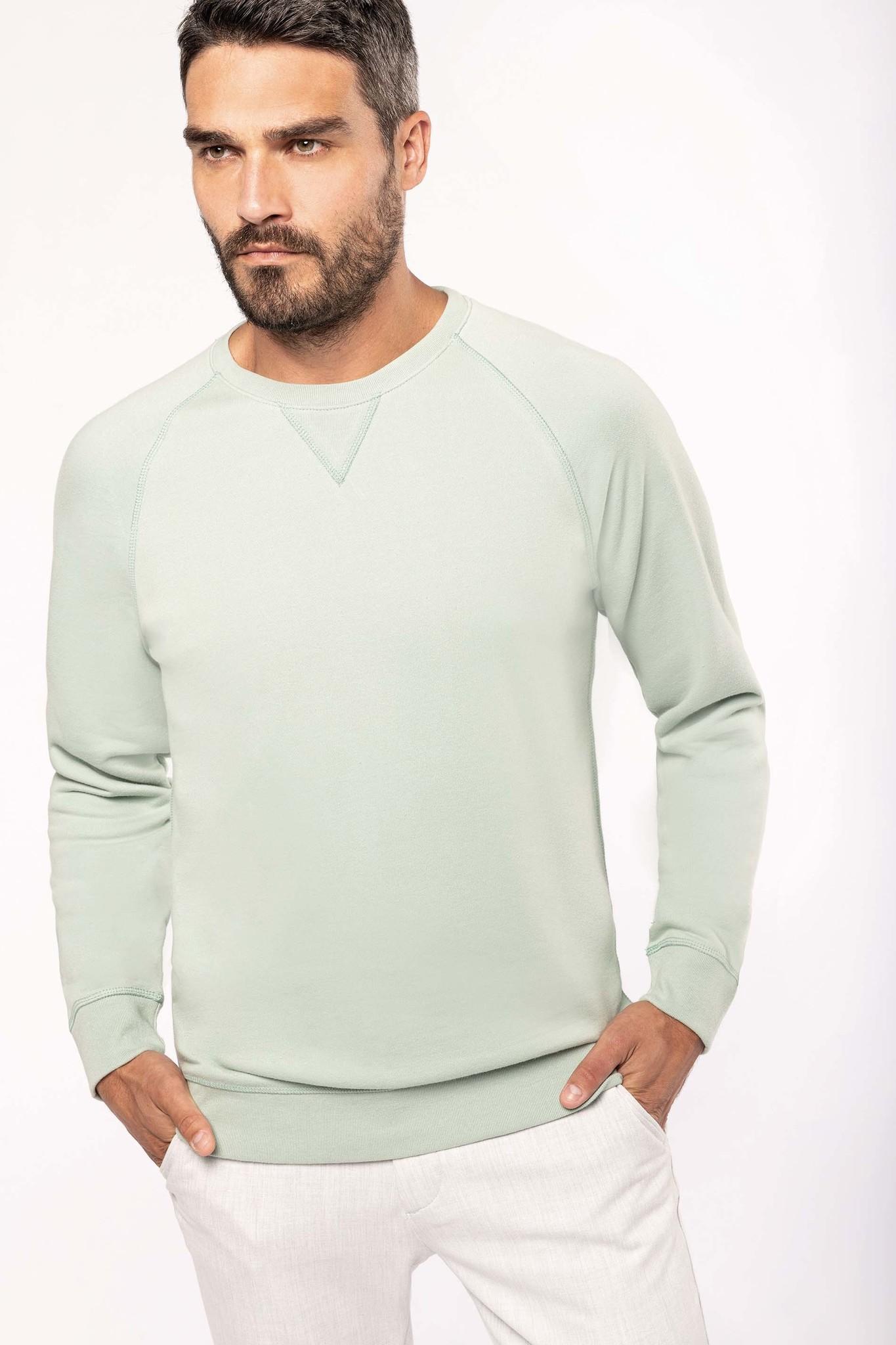 Eco-Friendly Sweater Heren Wine gemêleerd