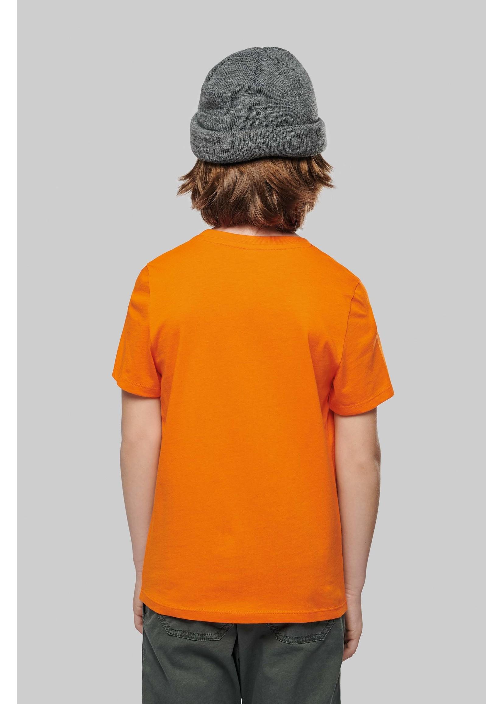 Eco-Friendly KIDS T-shirt - Ash gemêleerd