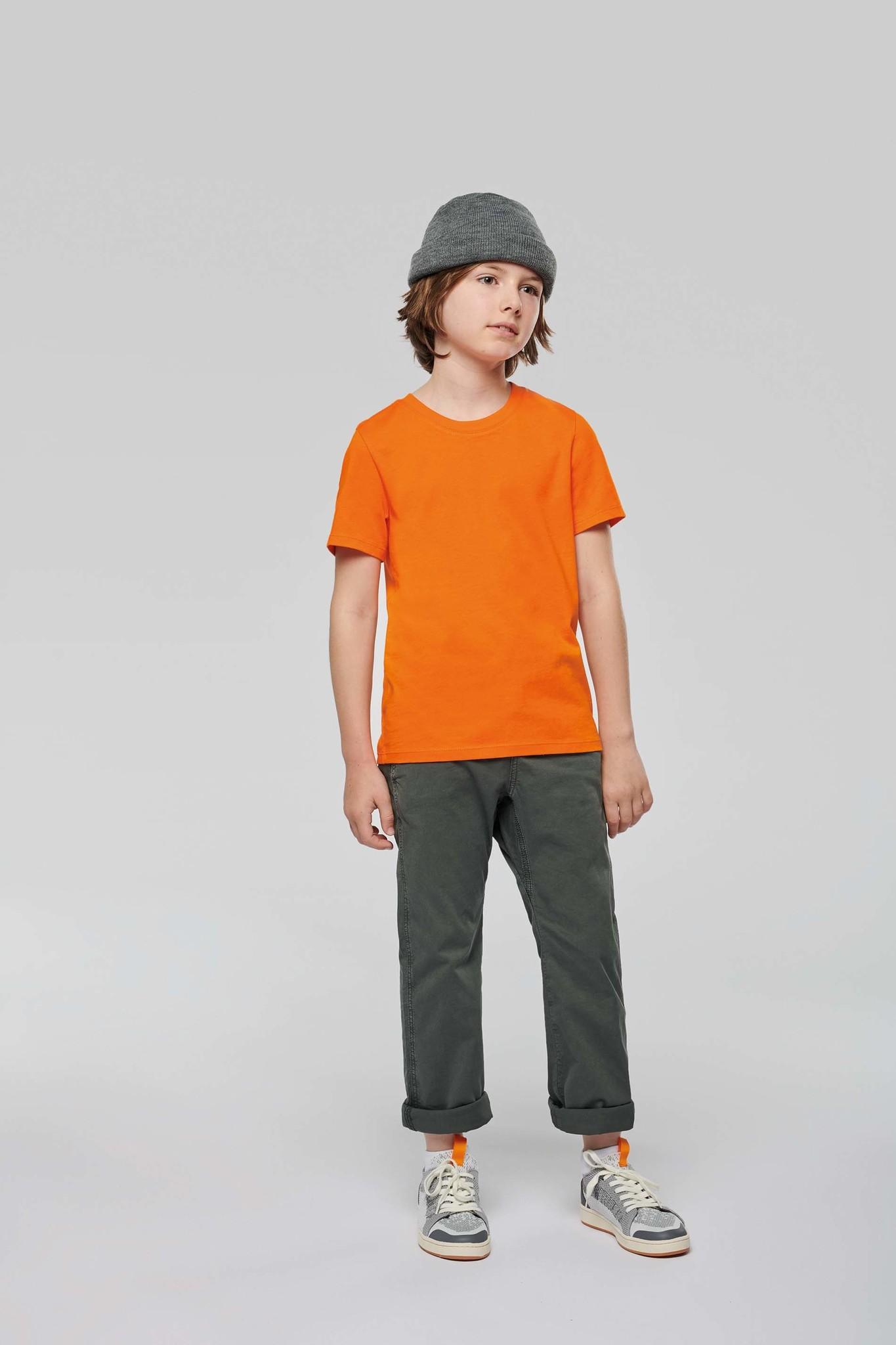 Eco-Friendly KIDS T-shirt - Fuchsia