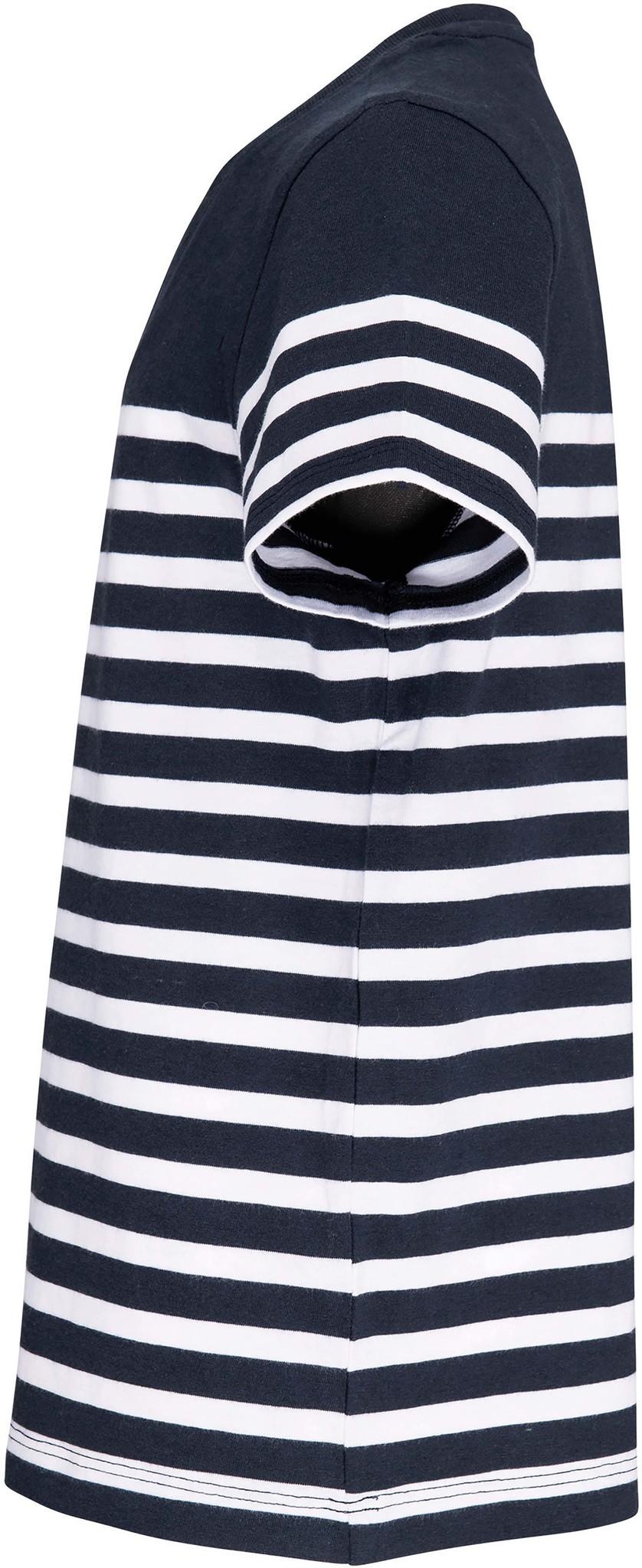 Eco-Friendly  Marine-t-shirt KIDS Navy - Wit