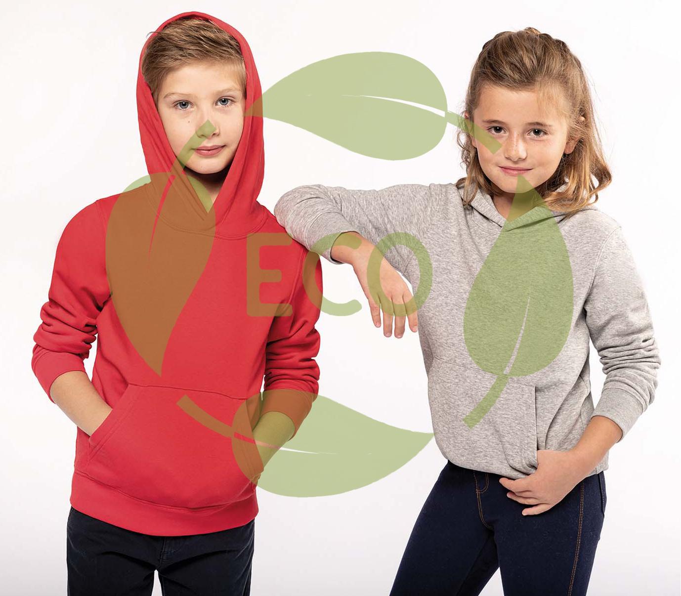 Ecologische kinder hoodie