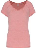 Eco-Friendly Sportshirt Sportiva Donna  Marl Pink
