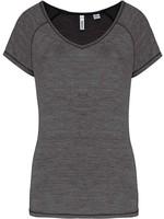 Eco-Friendly Sportshirt Sportiva Donna  Marl Grey