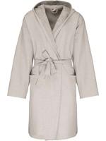 Dames Badjas ven 100% Biokatoen Linen Grey