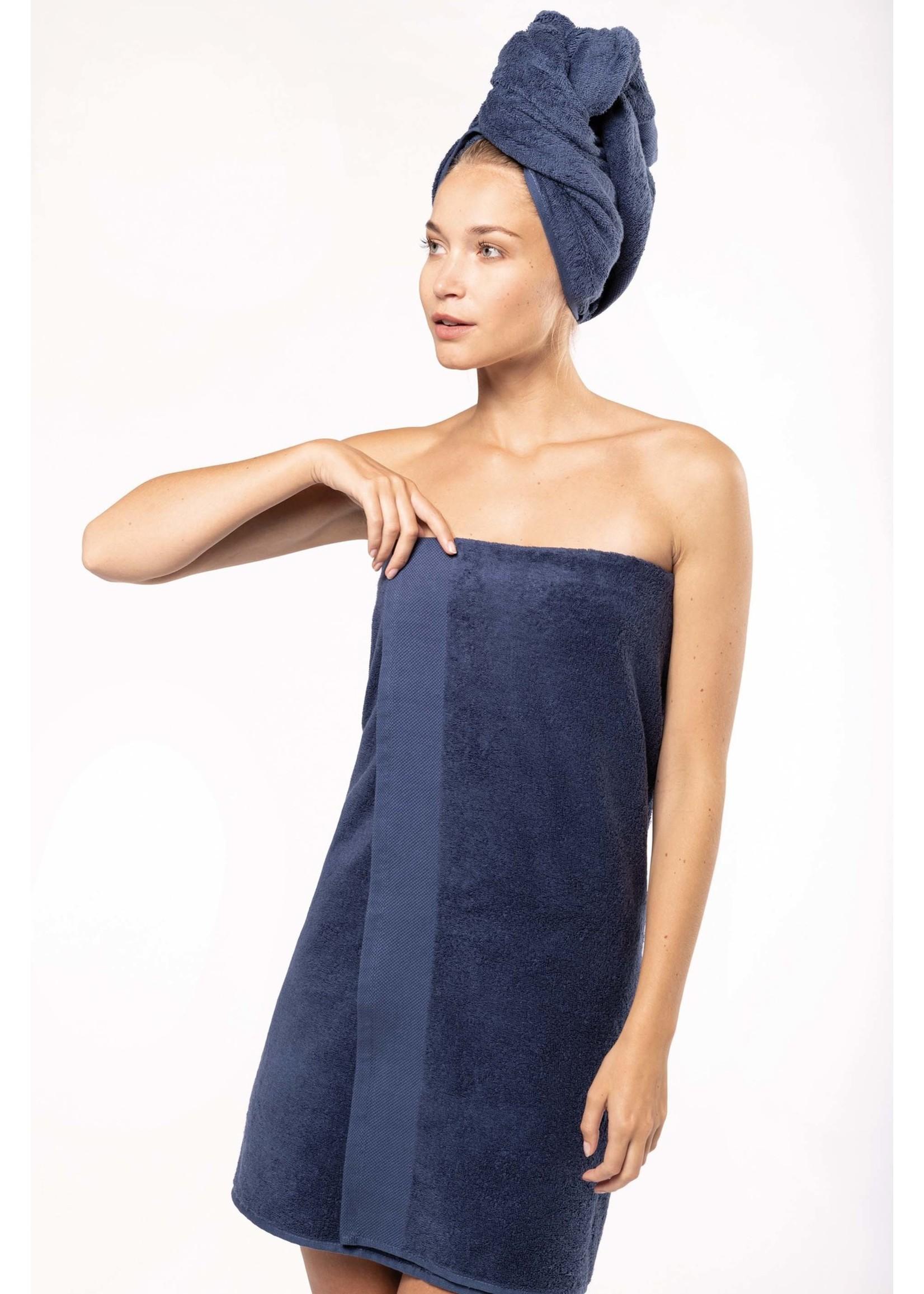 Eco-Friendly Handdoek 140 x 70 cm kleur: Black , is te bedrukken