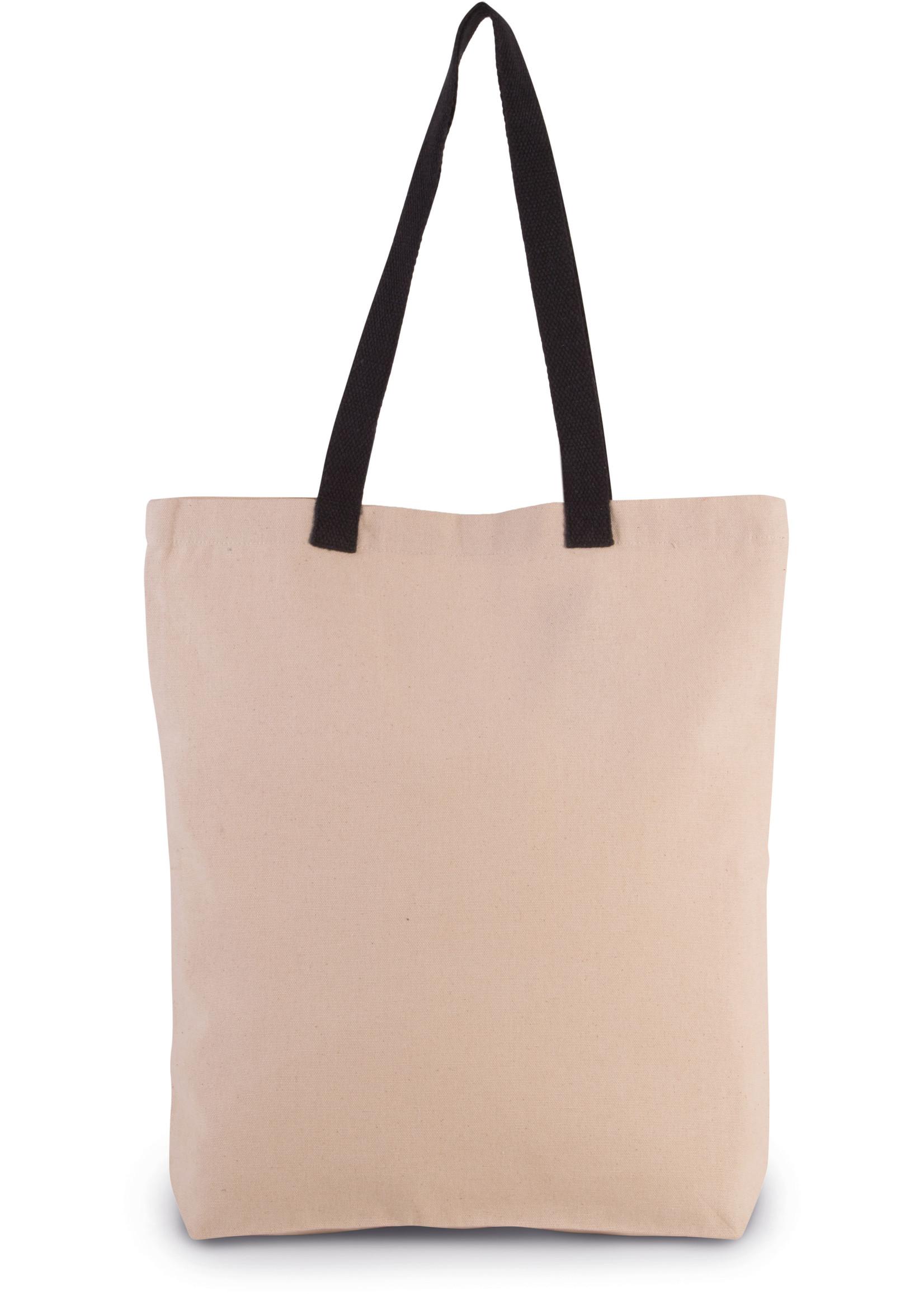 Eco-Friendly shopper kleur Natural-Black
