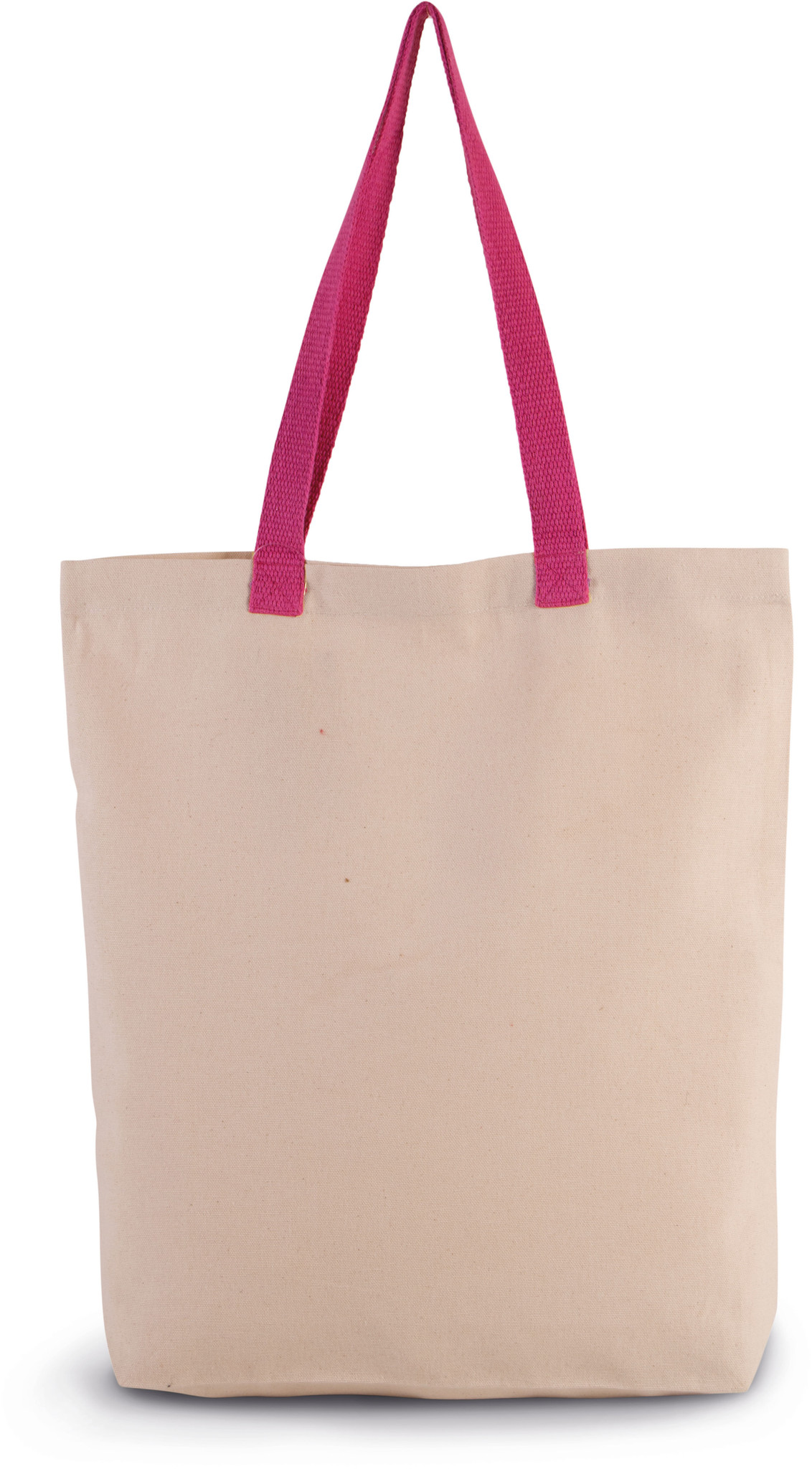Eco-Friendly shopper kleur Natural-Magenta