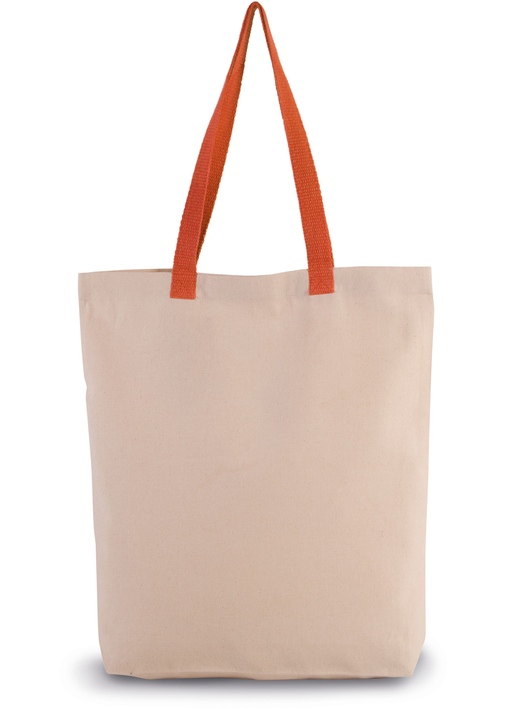 Eco-Friendly shopper kleur Natural-spicy orange
