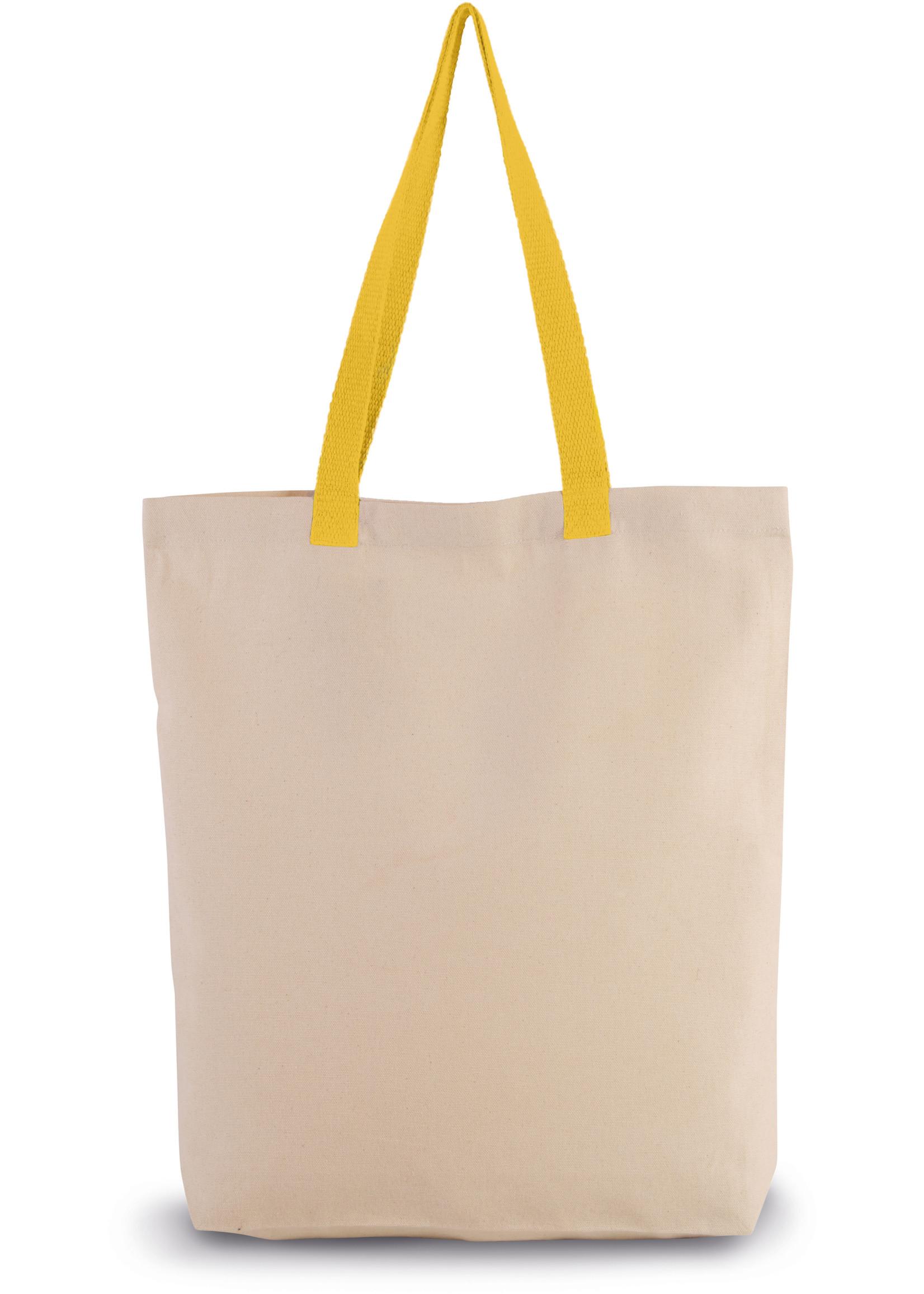 Eco-Friendly shopper kleur Natural-yellow