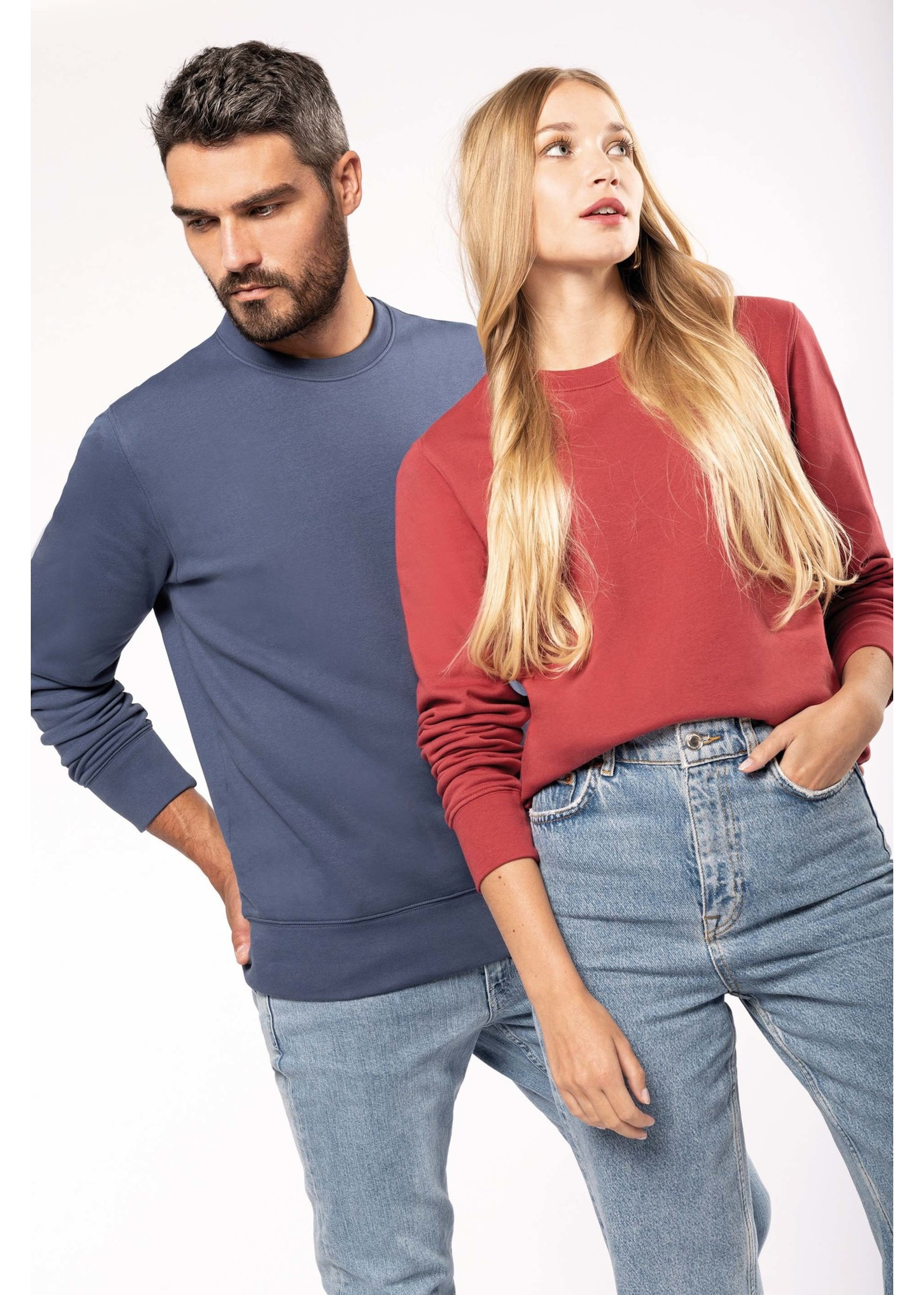 Eco-Friendly Sweater UNI Cloudly-Heather ALWAYS