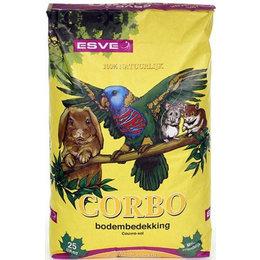 Corbo einstreu für Vögel