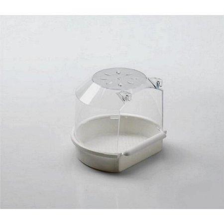 Modèle de petite maison de bain (blanc)