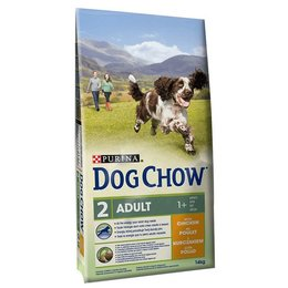 Dog Chow Adult mit Huhn & Reis (14 kg)