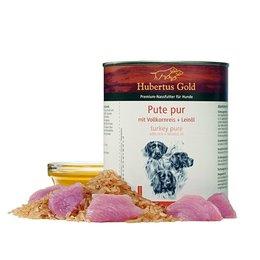 Hubertus Gold Hubertus Gold Kalkoen met volkorenrijst en lijnzaadolie