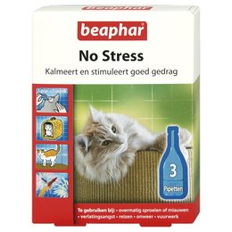 Beaphar No-Stress Cat (3 pipettes)