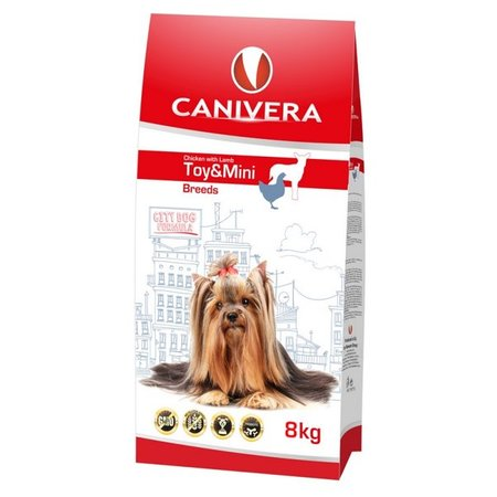 Canivera Adult Chicken with lamb for Toy and Mini breeds